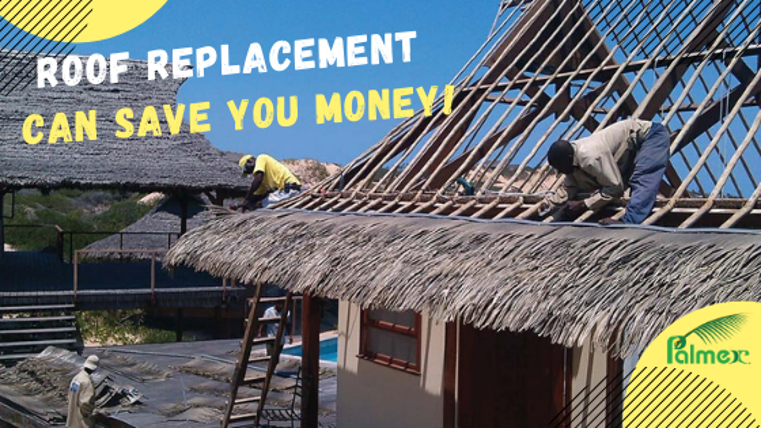 Roof replacement can save you money!