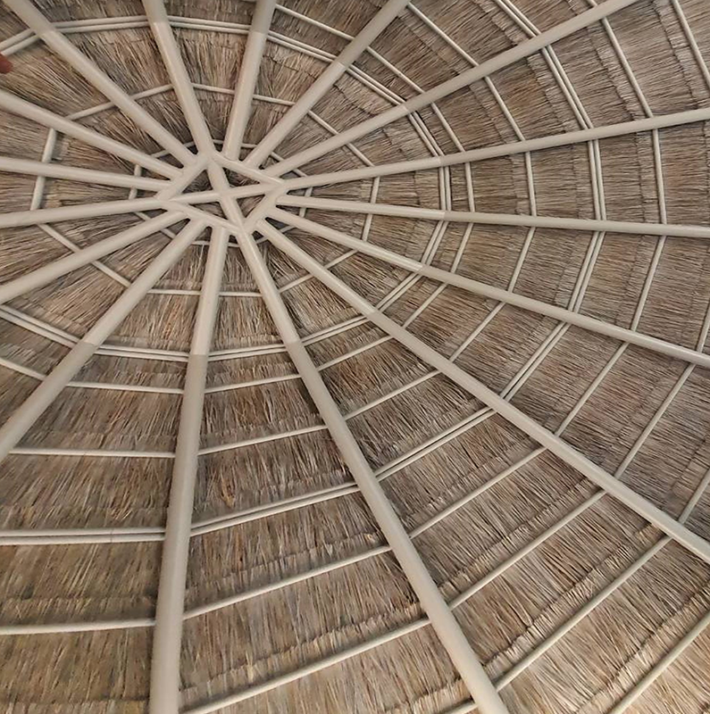 Asian Reed Ceiling