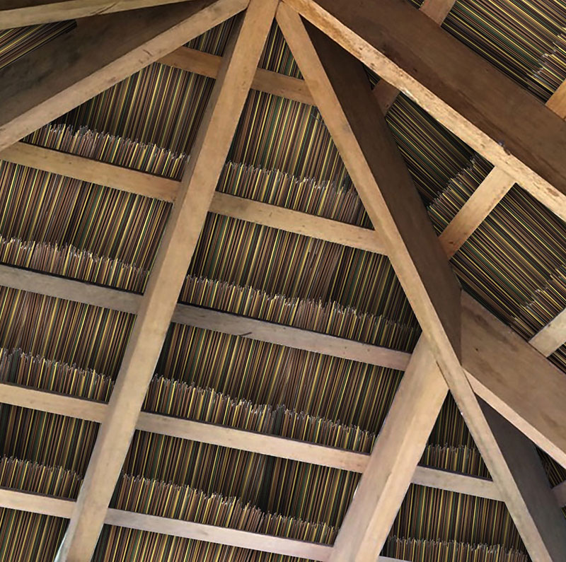 African Reed Ceiling